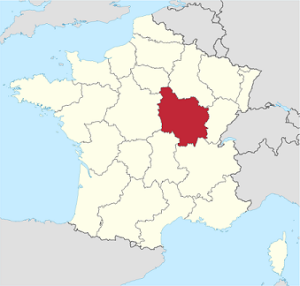 Modern region of Burgundy