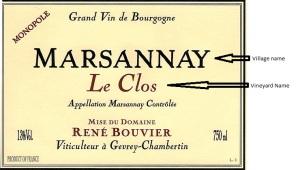 Bouvier Marsannay Le Clos