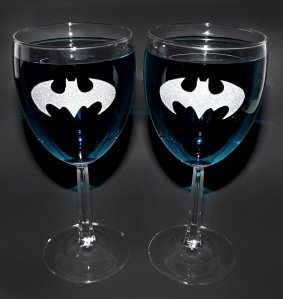 Holy wine glass Batman!