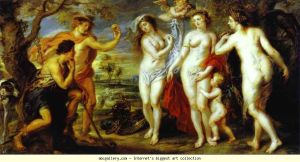 Judgment of Paris by Rubens